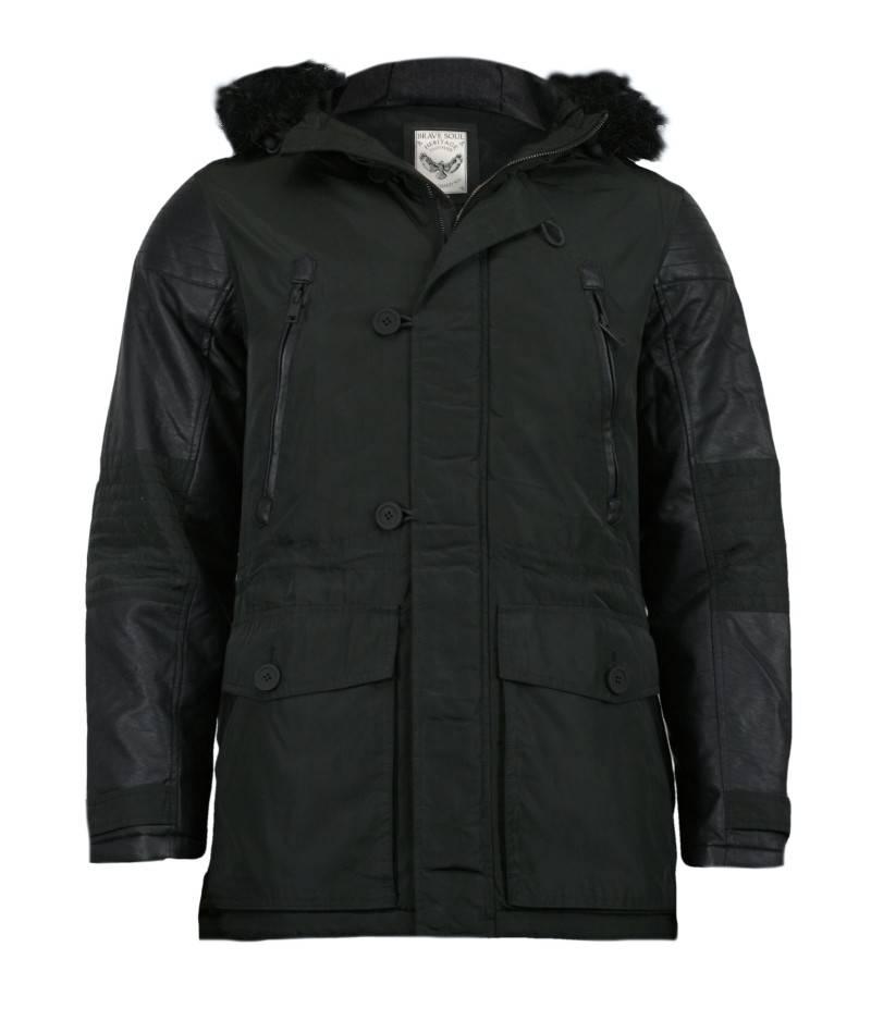 kurtka jesienno zimowa z kapturem o